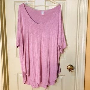 Old Navy Plus Size Rose Color T-Shirt